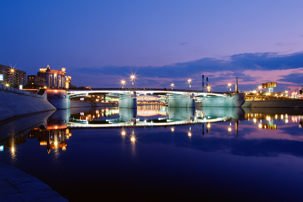 Borodinskiy bridge, Moscow